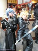 Roxas and Zexion cosplay by ZippyC