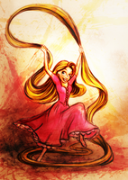 Tangled - Rapunzel by vivsters