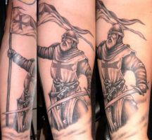 Templar by DarkSunTattoo
