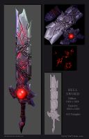Hail to the King: Hell Sword by Vert-Vixen