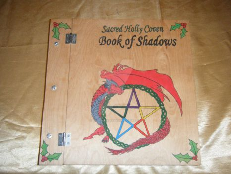 Sacred Holly Coven's Book of Shadows by Kagome26201