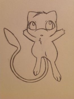 Cute Mew - 10/5/12 by Jestloo