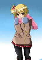 Lucy in Winter by Koralik242