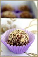 Nutty Egg Liqueur Chocolates by pandrina