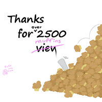 Yay 2500 - Muffinlanche by Muffinsforever
