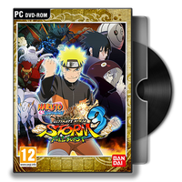 NSUNS3 Full Burst PC Game DVD Icon by Omegas82128
