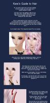 Tut: Guide to Hair shading by PrinceKara