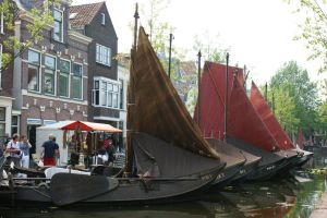 ancient sailers at Gouda by picture-melanie
