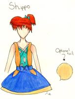 Shippo Pinafore by Kogalover-Zoe