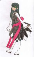 My ToS OC-Terresia (First Drawing) by Pana-sule
