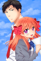 Gekkan shoujo nozaki-kun by Jun12