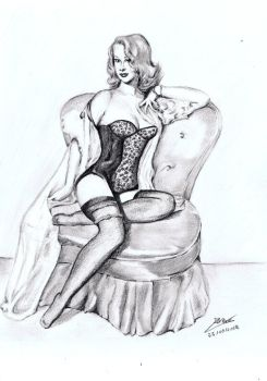 Pin up girl by Andreth