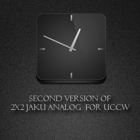 V2 jaku clock for UCCW by ryan1mcq