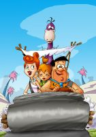 THE FLINTSTONES by themico