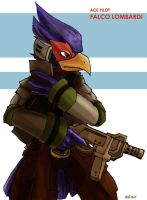 ace pilot falco by Daltair