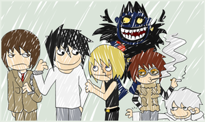 The essence of Death Note by mayanna