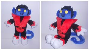 Nightcrawler Plushie by Sophillia
