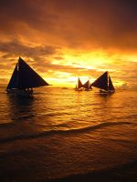 boracay sunset by maloiski
