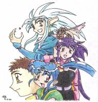 Tenchi Muyo Cover by fanchielover15