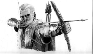 Legolas takes aim by maverick1001