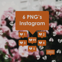 Overlays Instagram Pack by Maguichu