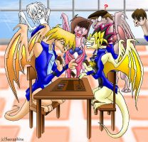 """Yugioh Dragons -""""I win again"""" by Seeraphine"""