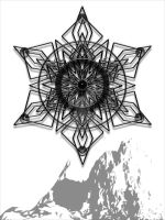 A Black Snowflake 06 by VolatilePlums