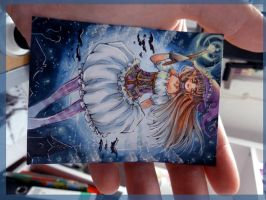 aceo card size by MIAOWx3