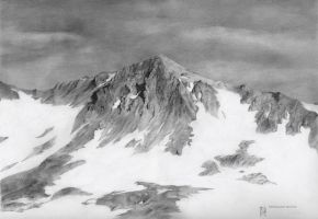 Snow Mountain by DChernov