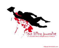 Stop killing journalist by Lullipops