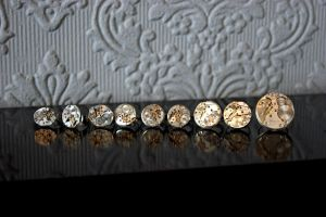vintage watch movement rings, Doctor Who inspired by llinosevans