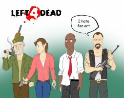 Left 4 Dead Fan Art by Calick