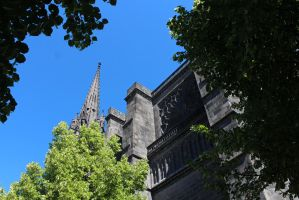 Cathedrale de Clermont-Ferrand - III by Scipia