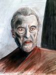 Christopher Lee by AraxussYexyr