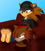 ReQuest - Alexia Murphy's Soles by DrkNite007