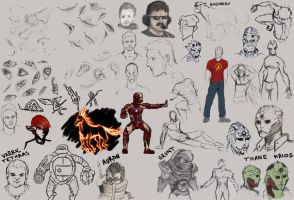Sketch dump 8 by synyster-gates-A7X