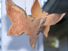 Wooden Butterfly by codybishop
