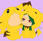 Open Collab :Pikachu Jammies: by CLGbases