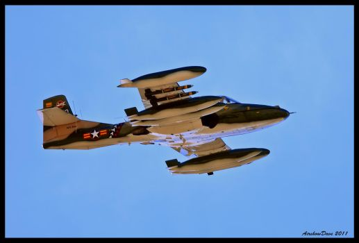 A-37 Dragonfly by AirshowDave