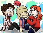 By the Power of the Chibi Three! by Jaycee9325