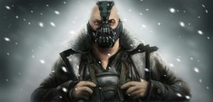 Dark Knight Rises Bane by timshinn73
