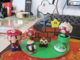 Mario's world by Sbarabaus