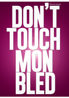 Don't Touch Mon Bled by Aminebjd