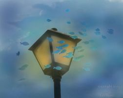 Fish in the Clouds 2.0 by SeaPlume