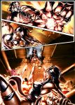 psylocke comic pg 4 color by cric