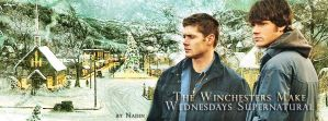 Let It Supernatural Snow (Banner for facebook) by Nadin7Angel
