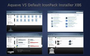 AquaveV5 iconPack Def Inst X86 by Mr-Ragnarok