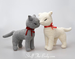 Amigurumi Seamless Cat by Stuffthebody