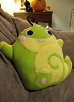 Politoed Plush Pillow by CynicalSniper