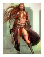 Aerin: Elven Fighter by Lokai2000